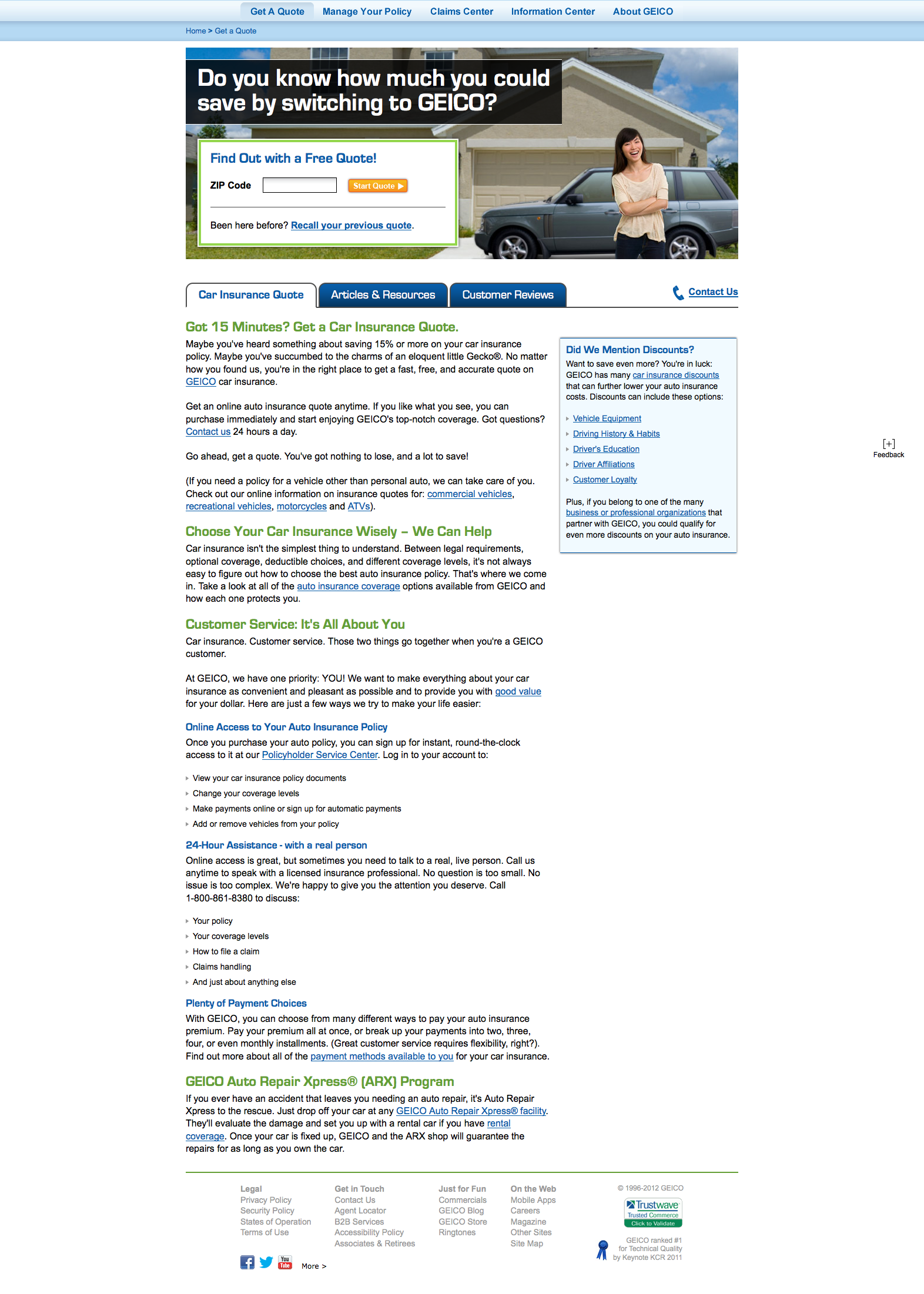 geico insurance estimate  | Geico New Quote Pleasing An Insurance Company For Your Car And ...